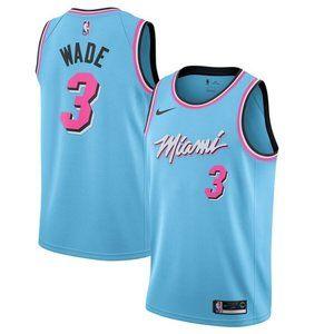 NBA Miami Heat Dwyane Wade Basketball Jersey
